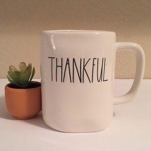 🍂 RAE DUNN THANKFUL Mug - NWT